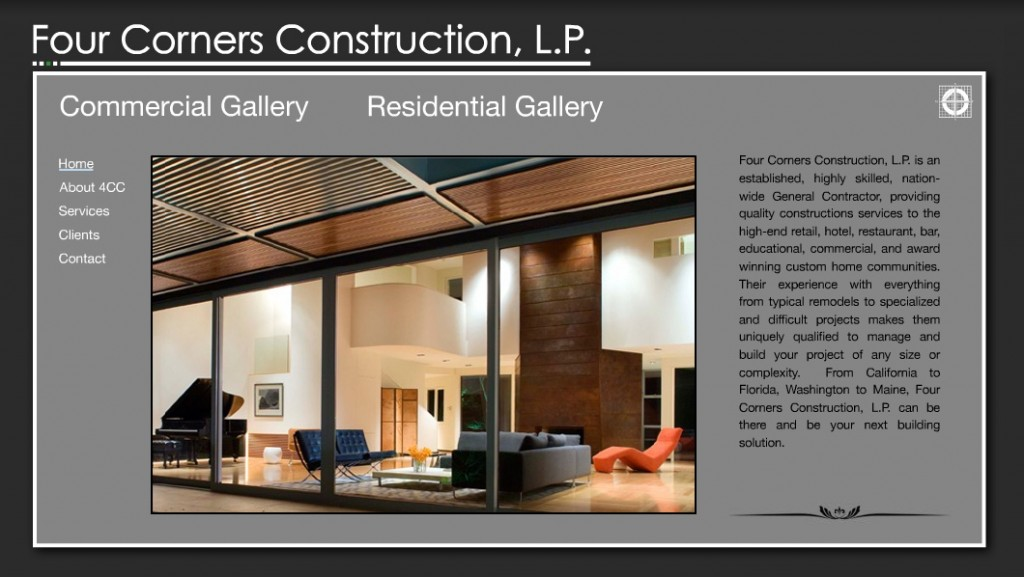 web design for building contractors