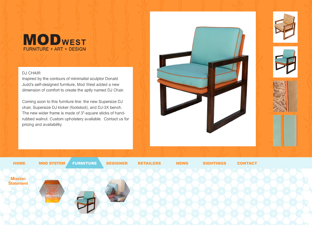 Web Design For Furniture Design Amazing Design